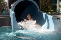 50 metre black-hole-slide